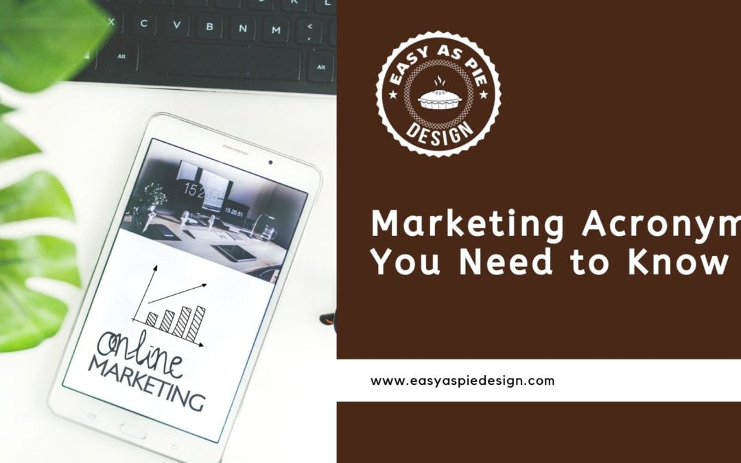 Marketing Acronyms You Need to Know